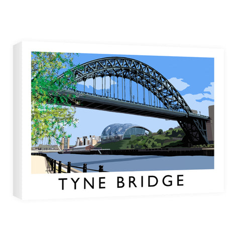 The Tyne Bridge, Newcastle Upon Tyne Canvas