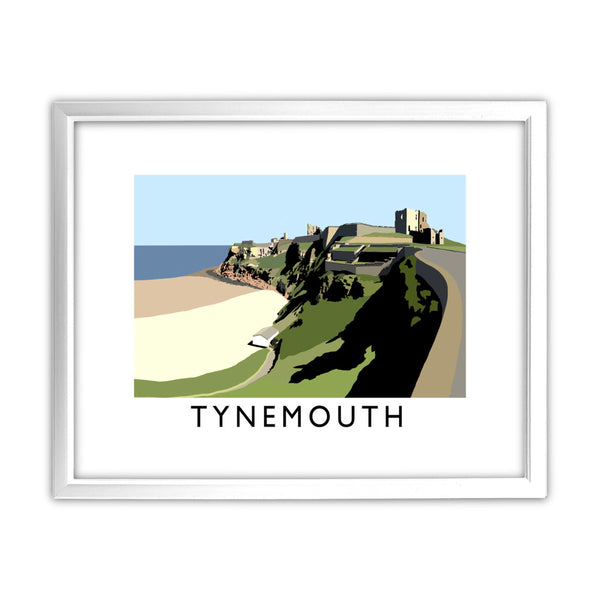 Tynemouth, Tyne and Wear 11x14 Framed Print (White)
