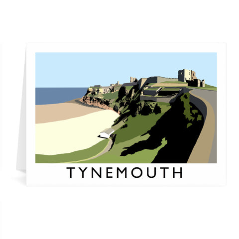 Tynemouth, Tyne and Wear Greeting Card 7x5