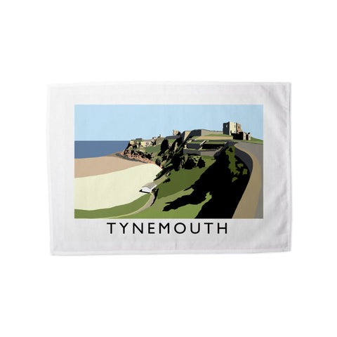 Tynemouth, Tyne and Wear Tea Towel