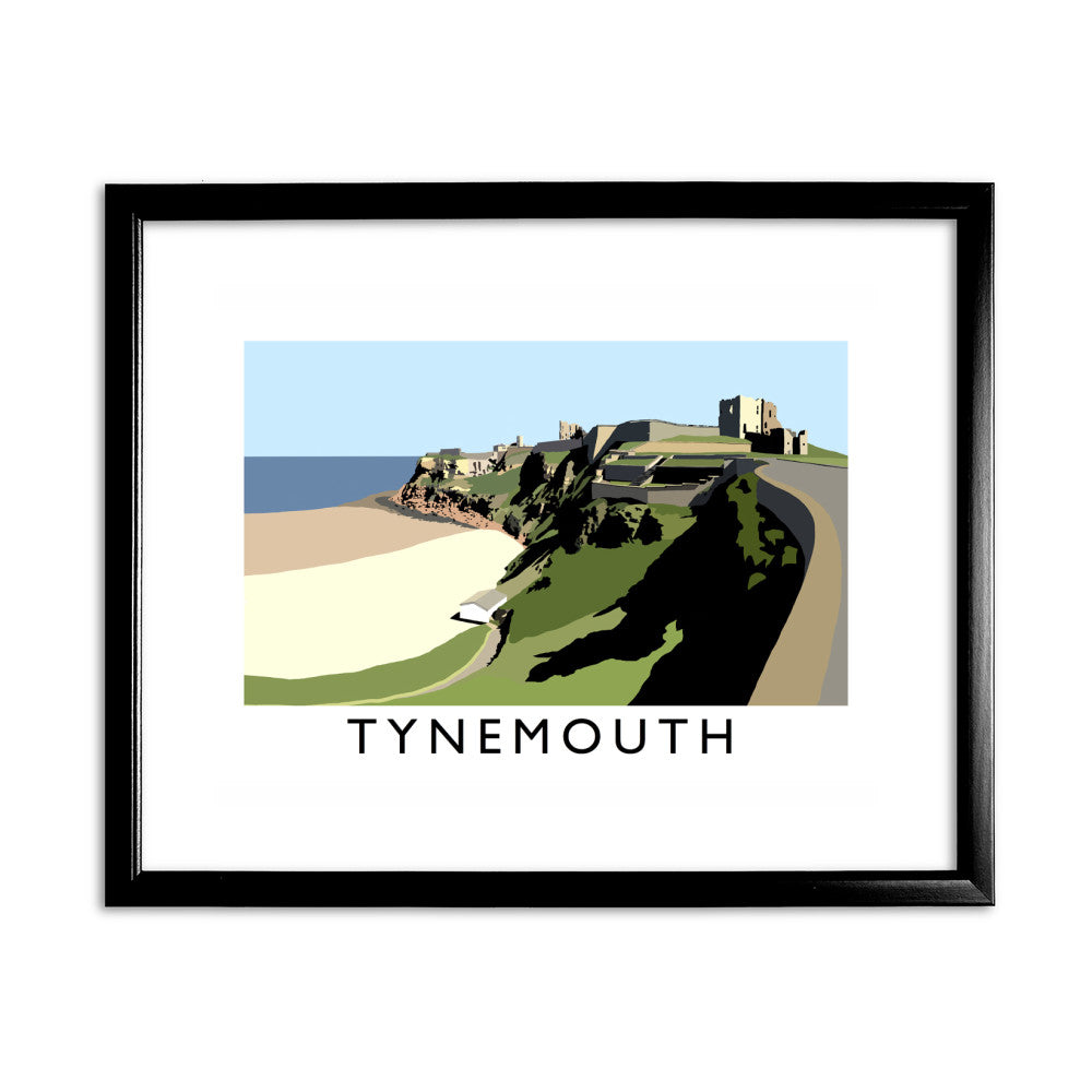 Tynemouth, Tyne and Wear 11x14 Framed Print (Black)