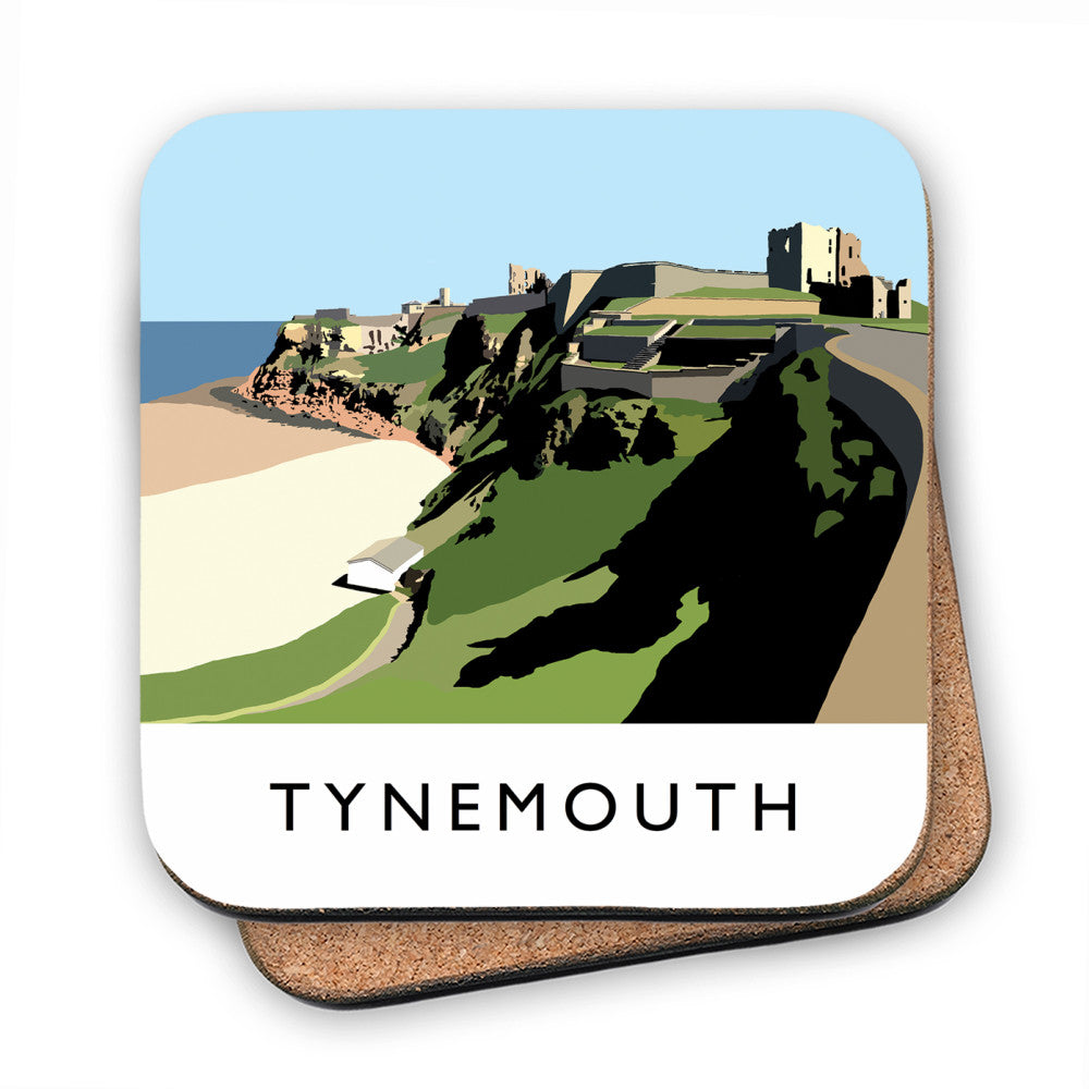 Tynemouth, Tyne and Wear MDF Coaster