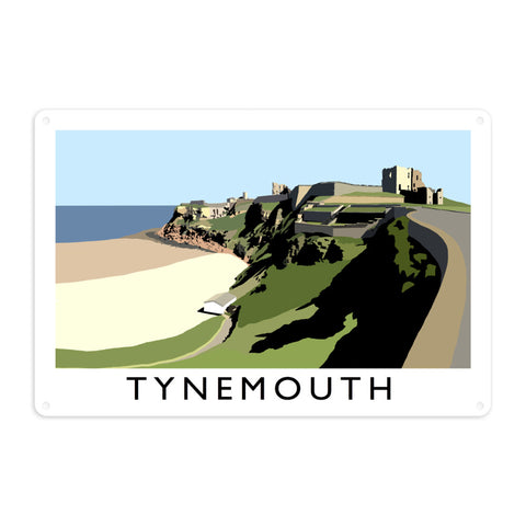 Tynemouth, Tyne and Wear Metal Sign