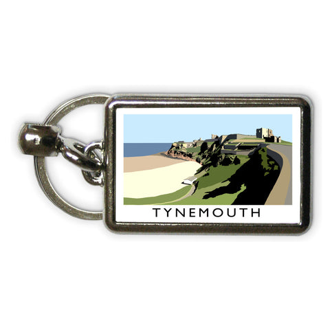Tynemouth, Tyne and Wear Metal Keyring