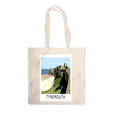 Tynemouth, Tyne and Wear Canvas Tote Bag