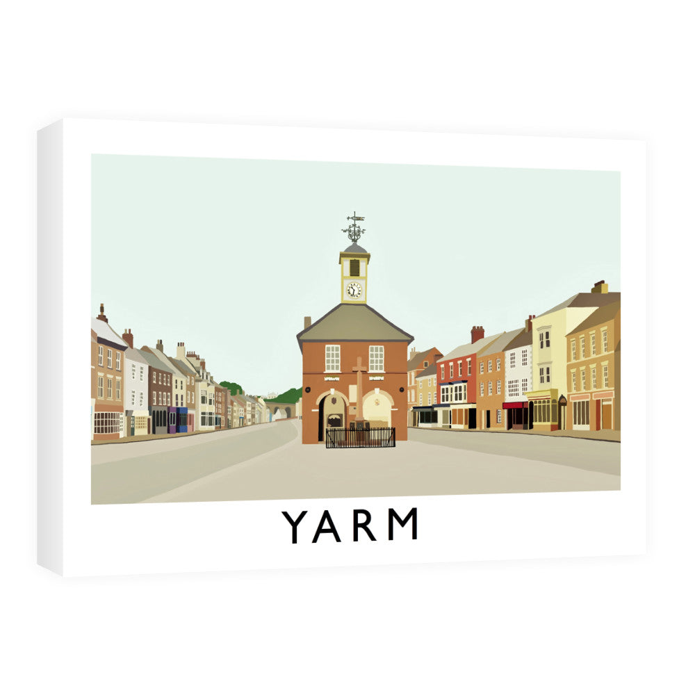Yarm, North Yorkshire Canvas