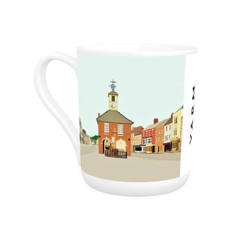 Yarm, North Yorkshire Bone China Mug