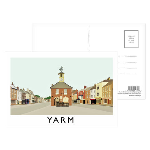 Yarm, North Yorkshire Postcard Pack