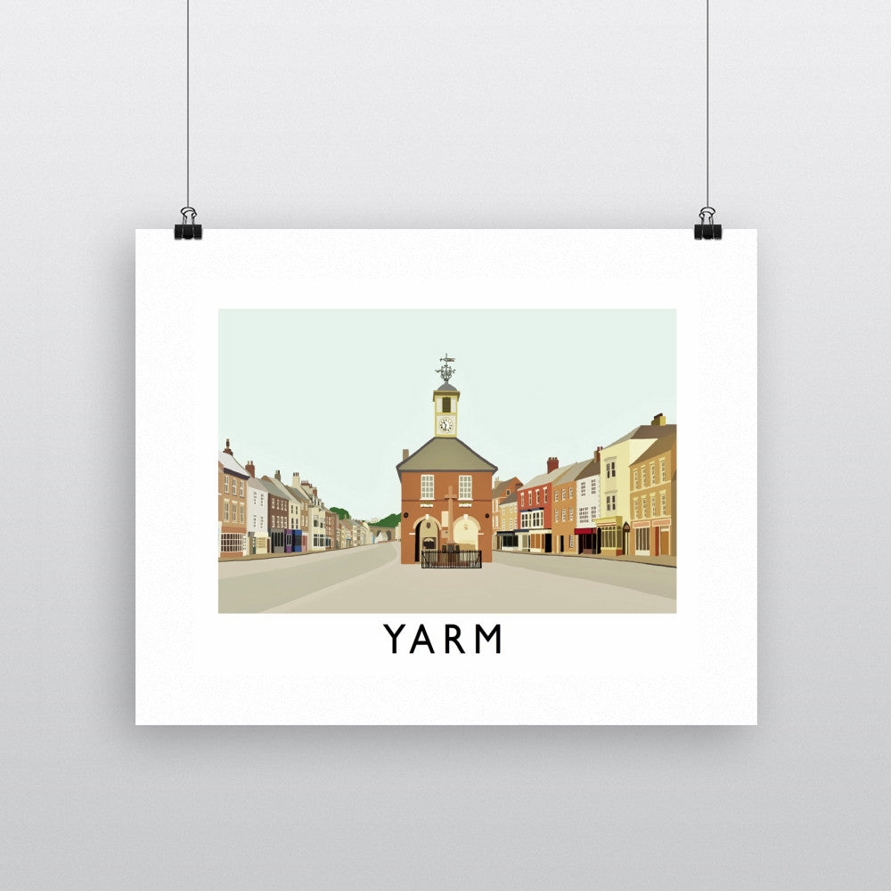 Yarm, North Yorkshire Fine Art Print