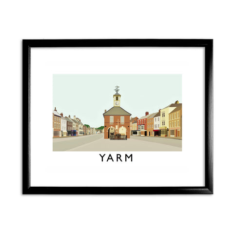 Yarm, North Yorkshire 11x14 Framed Print (Black)