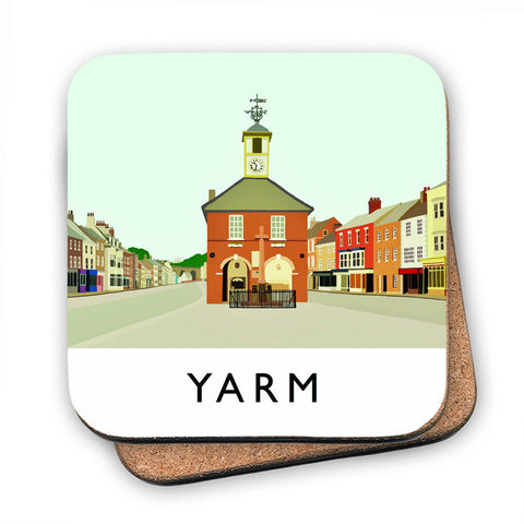 Yarm, North Yorkshire MDF Coaster