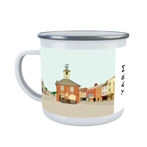 Yarm, North Yorkshire Enamel Mug