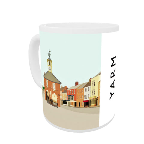 Yarm, North Yorkshire Coloured Insert Mug