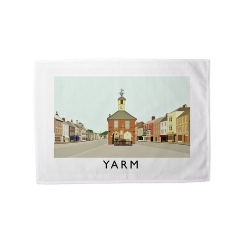 Yarm, North Yorkshire Tea Towel