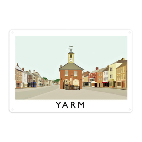 Yarm, North Yorkshire Metal Sign