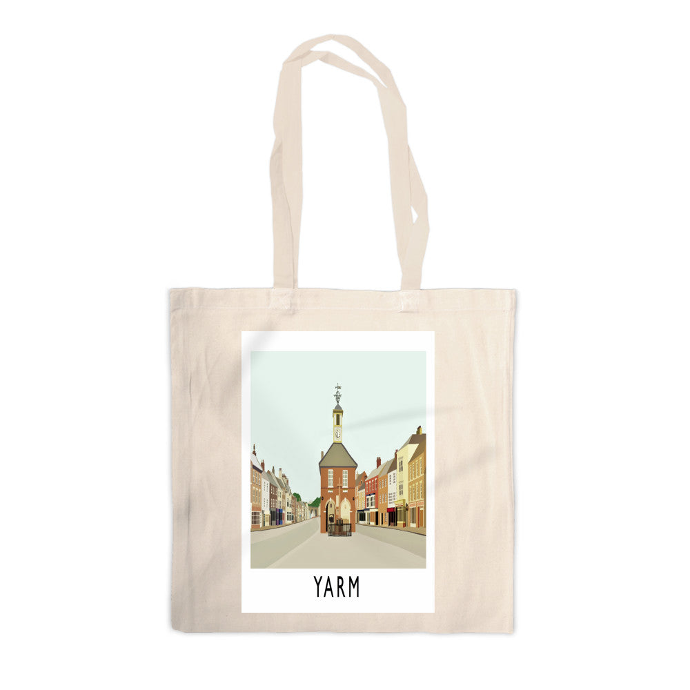 Yarm, North Yorkshire Canvas Tote Bag