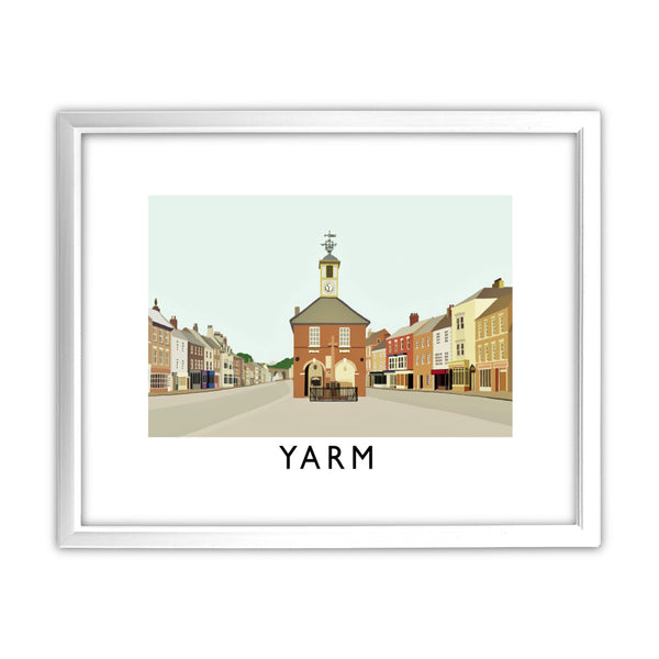 Yarm, North Yorkshire 11x14 Framed Print (White)