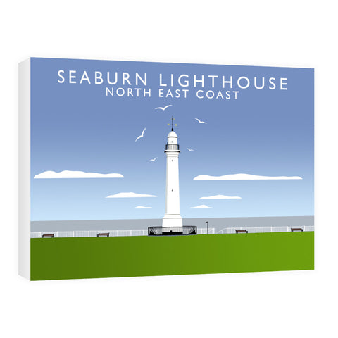 Seaburn Lighthouse, North East Coast 60cm x 80cm Canvas