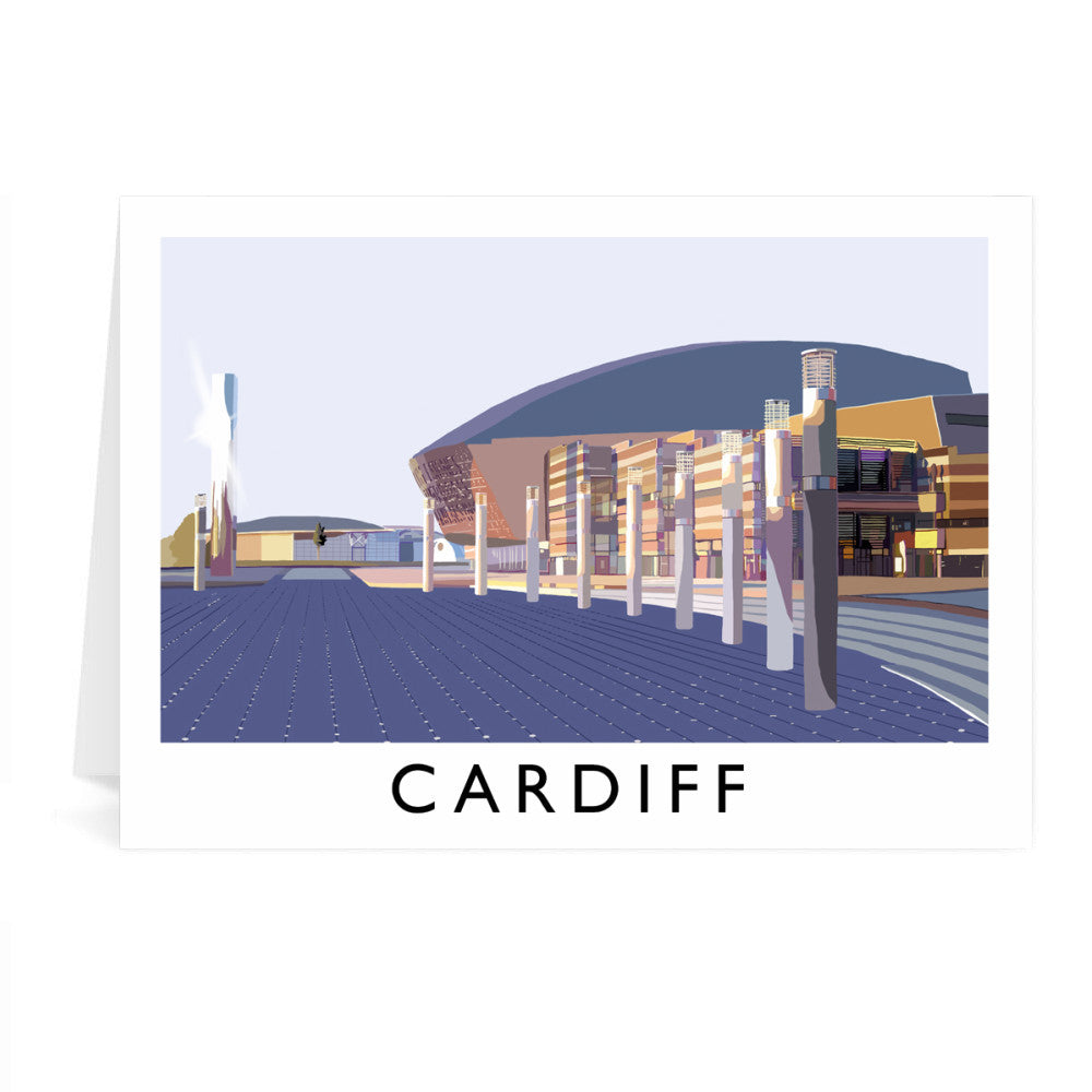 Cardiff, Wales Greeting Card 7x5