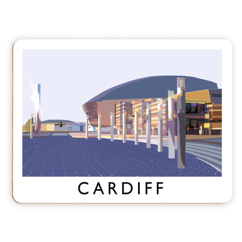 Cardiff, Wales Placemat
