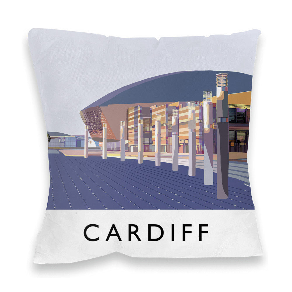 Cardiff, Wales Fibre Filled Cushion