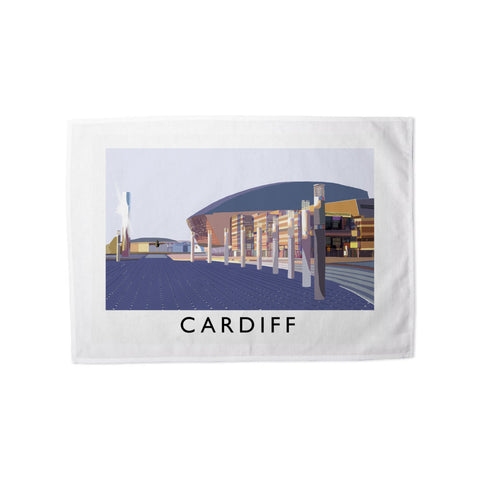Cardiff, Wales Tea Towel