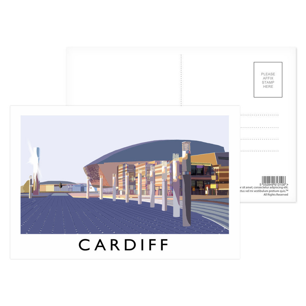 Cardiff, Wales Postcard Pack