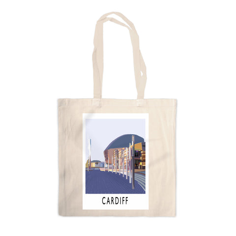 Cardiff, Wales Canvas Tote Bag