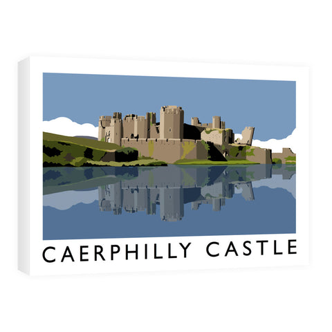 Caerphilly Castle, Wales 60cm x 80cm Canvas
