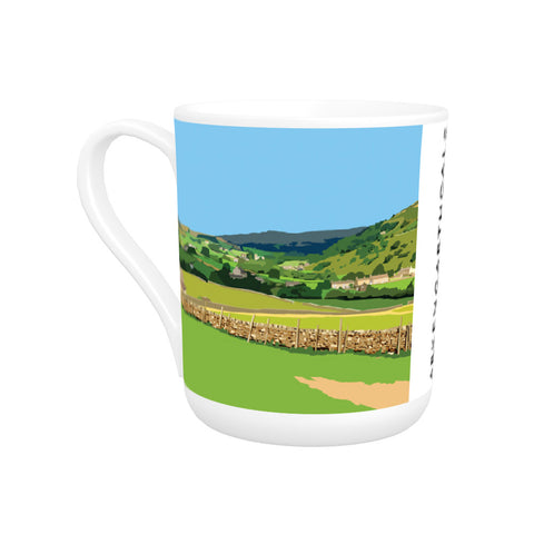 Arkengarthdale, North Yorkshire Bone China Mug