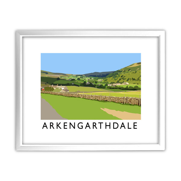 Arkengarthdale, North Yorkshire 11x14 Framed Print (White)