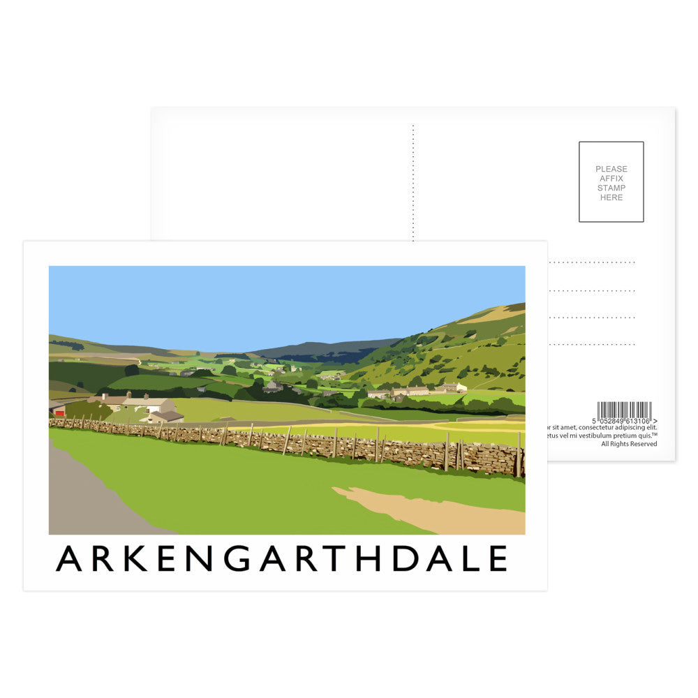 Arkengarthdale, North Yorkshire Postcard Pack