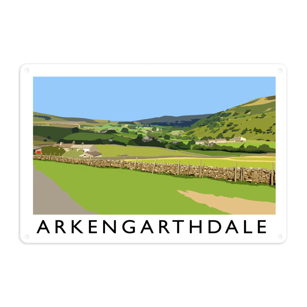 Arkengarthdale, North Yorkshire Metal Sign