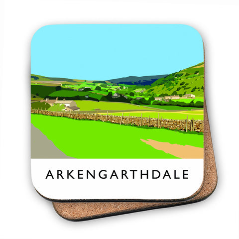 Arkengarthdale, North Yorkshire MDF Coaster