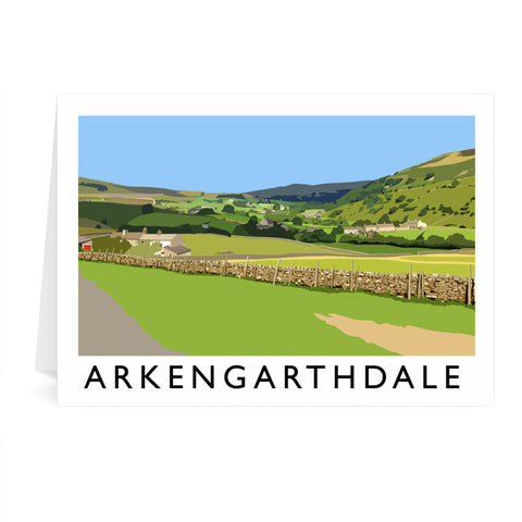Arkengarthdale, North Yorkshire Greeting Card 7x5