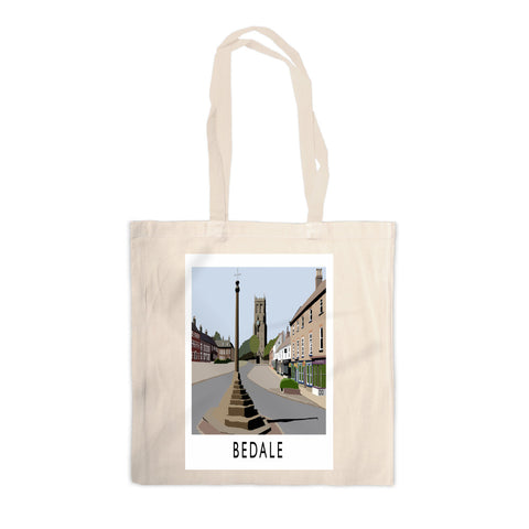 Bedale, North Yorkshire Canvas Tote Bag