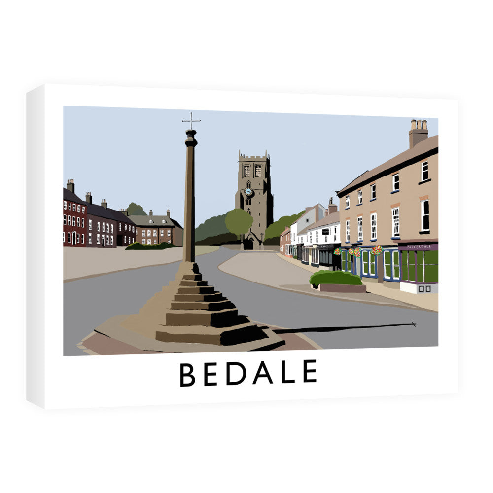 Bedale, North Yorkshire Canvas