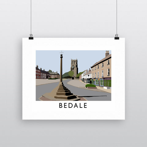 Bedale, North Yorkshire Fine Art Print