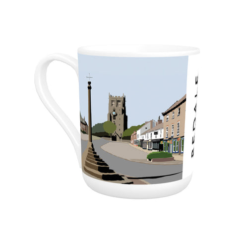 Bedale, North Yorkshire Bone China Mug