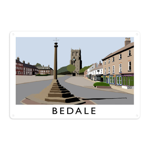 Bedale, North Yorkshire Metal Sign