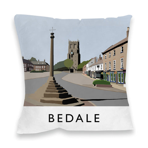 Bedale, North Yorkshire Fibre Filled Cushion