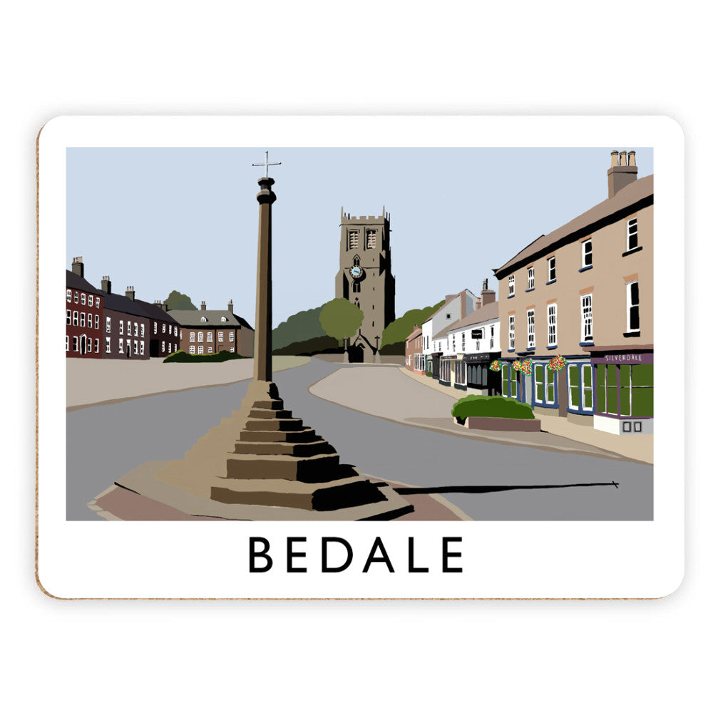 Bedale, North Yorkshire Placemat