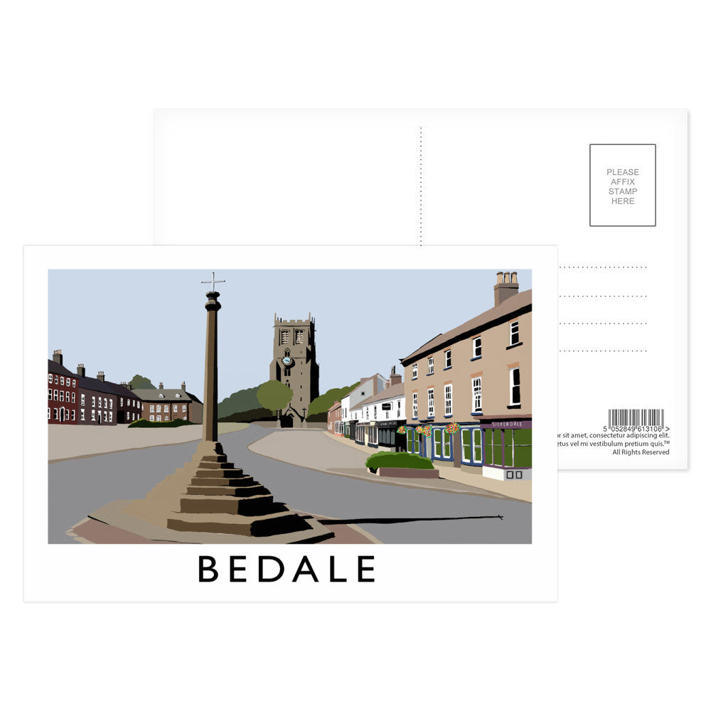 Bedale, North Yorkshire Postcard Pack