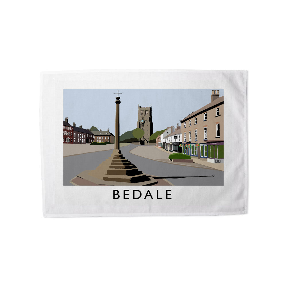 Bedale, North Yorkshire Tea Towel