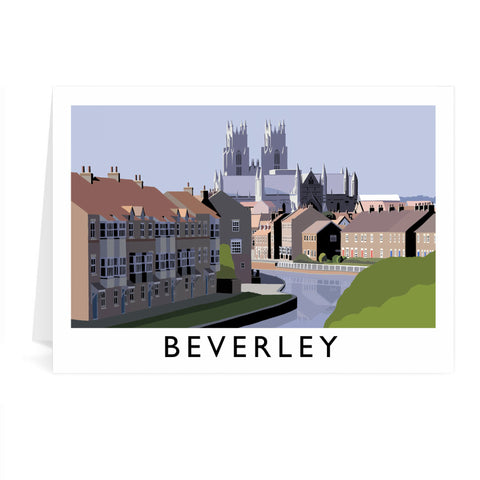 Beverley, Yorkshire Greeting Card 7x5