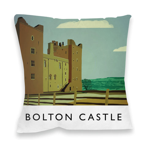 Bolton Castle, Yorkshire Fibre Filled Cushion
