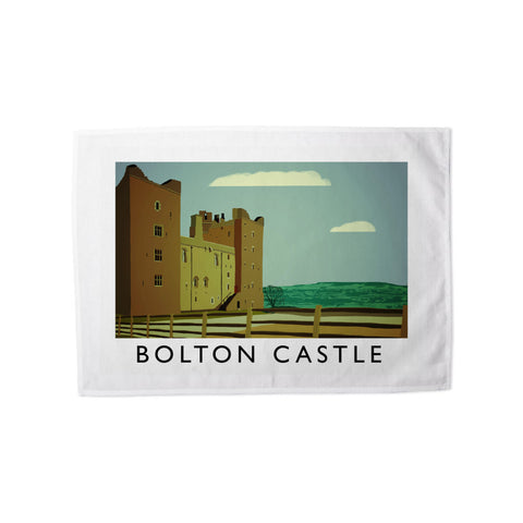 Bolton Castle, Yorkshire Tea Towel