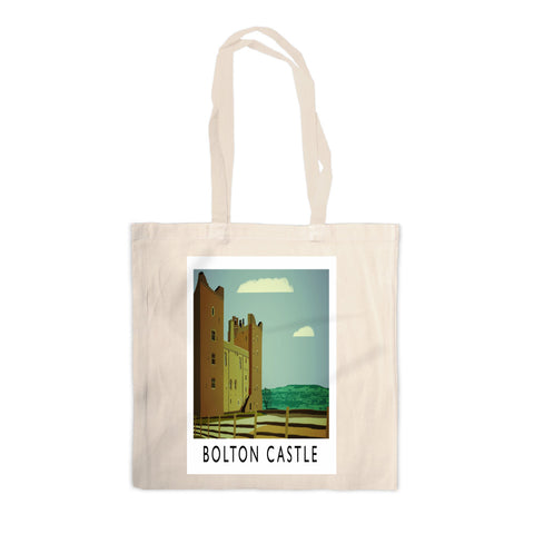 Bolton Castle, Yorkshire Canvas Tote Bag