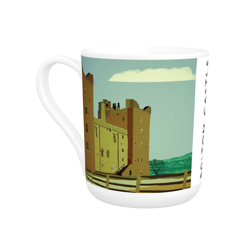 Bolton Castle, Yorkshire Bone China Mug