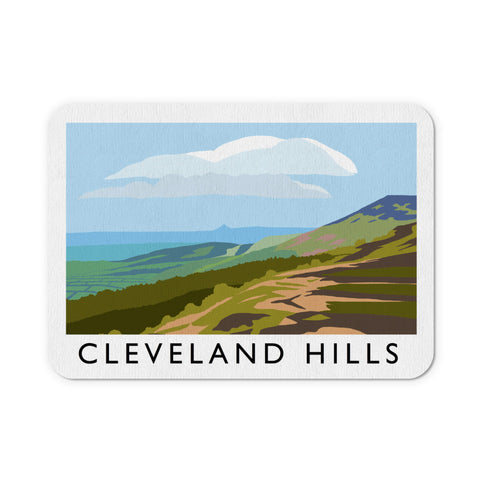 The Cleveland Hills, Yorkshire Mouse Mat